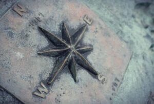 Contact Us Metal Star Compass